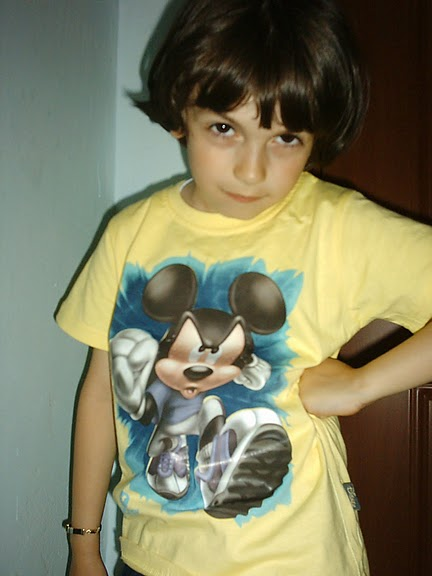 Tricou copii original Mickey Mouse Galben